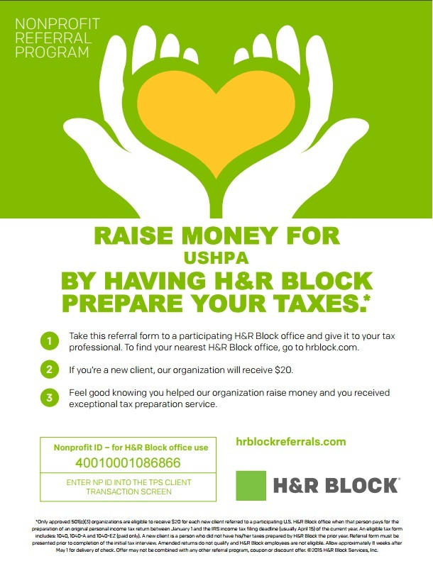 hr block nonprofit referral program