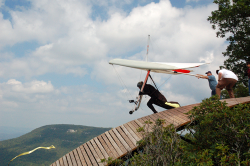 Safe hang gliding launches REDUX